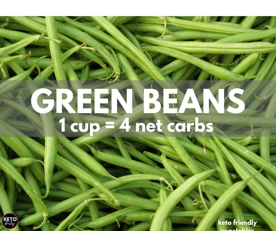 green beans 1 cup has 4 net carbs keto friendly vegetable