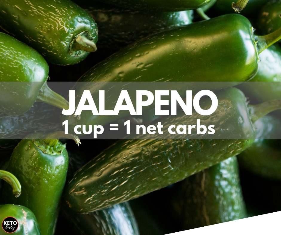 jalapeno 1 net carb