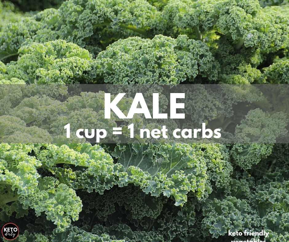 kale keto vegetable 1 net carb