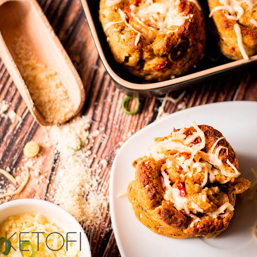 Recept keto borrel rolls