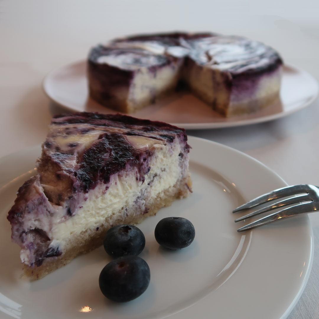 Keto bosbessen cheesecake recept
