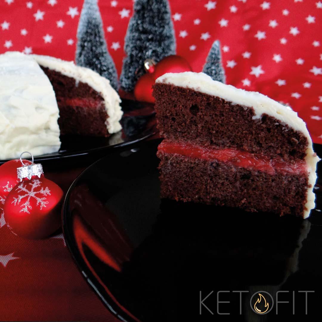 Recept keto chocolade taart