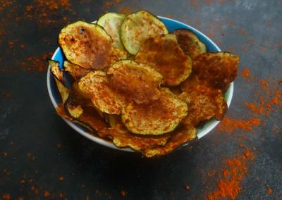 Keto Courgette Chips