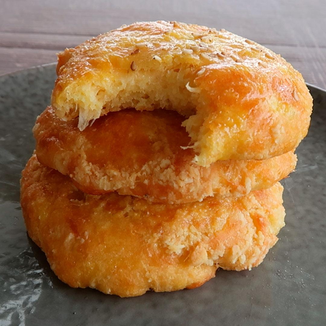 Recept: Keto kaas-ui broodjes