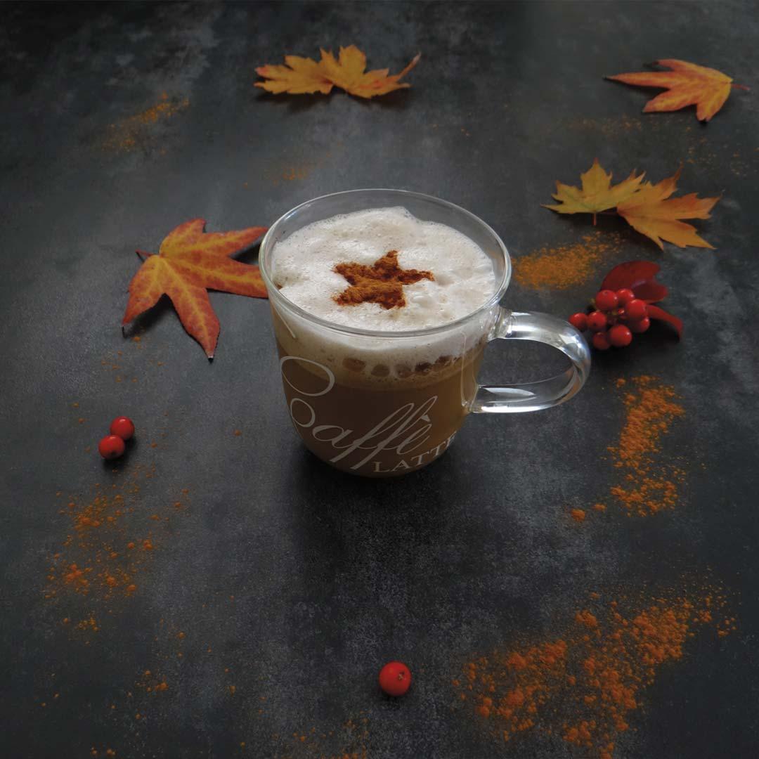 Keto pumpkin spice latte recept