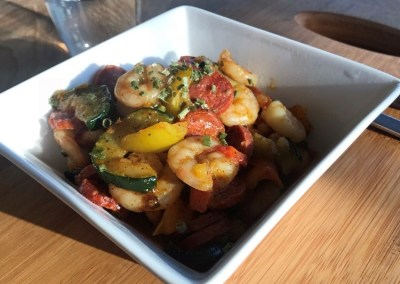 One pan Shrimp & Sausage