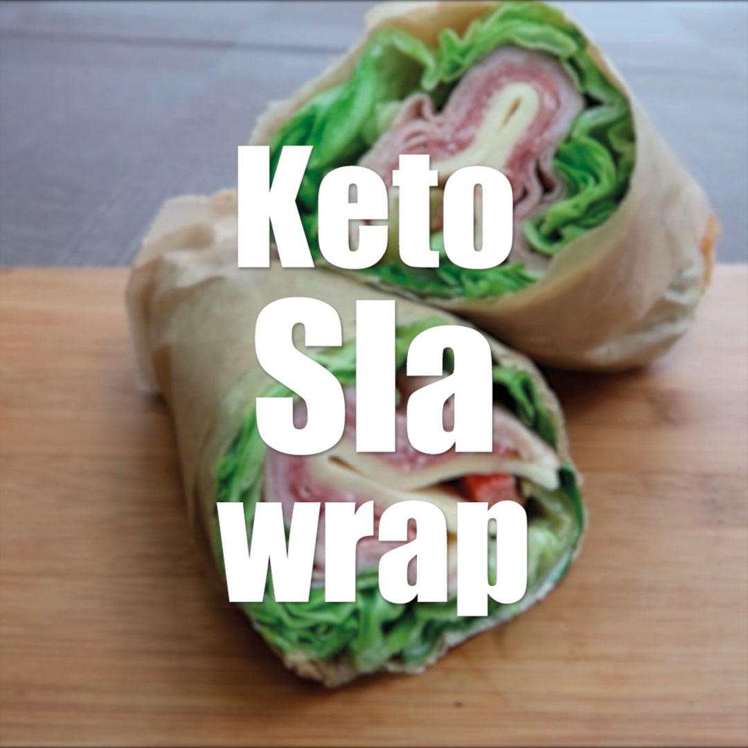 Recept keto sla wrap