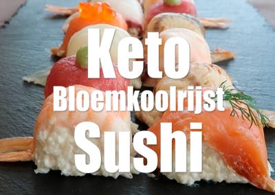 Keto Sushi Bloemkoolrijst