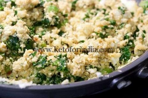 Saturday Keto Lunch Idea: Cauliflower fried rice