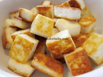 Navratri special Keto Chinese Fried Paneer recipe