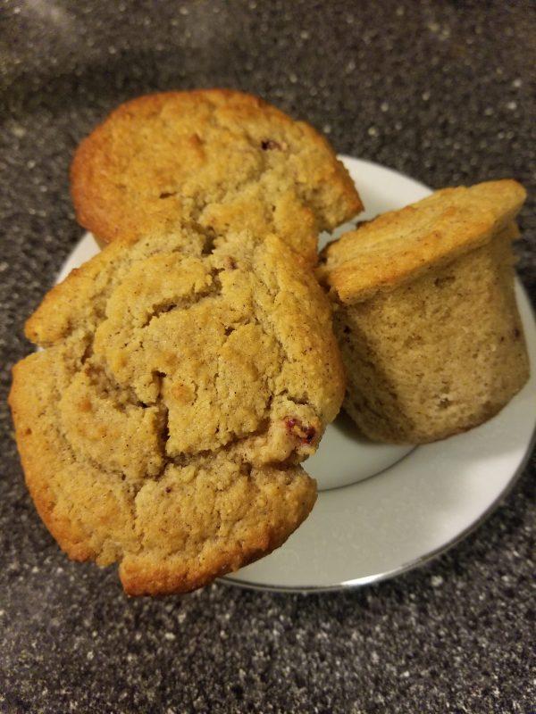 Ketogemic Mixed Berry muffins threesome