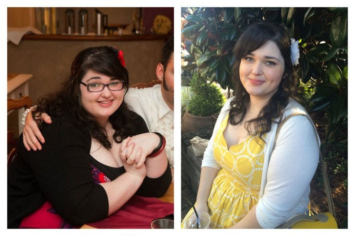 Loss of 40kg / 80 pounds