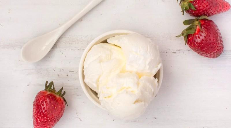 Recept keto vanille ijs