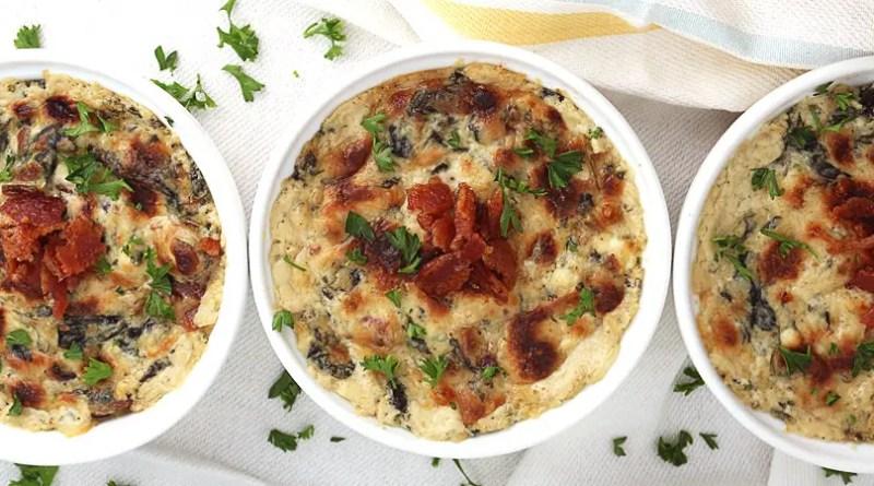 Spinazie taartje recept