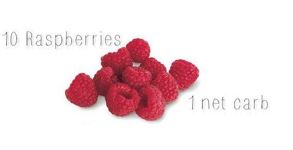 are reaspberries keto net carbs in raspberries