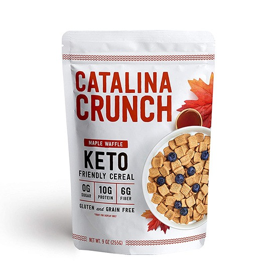 Catalina Crunch Maple Waffle Cereal