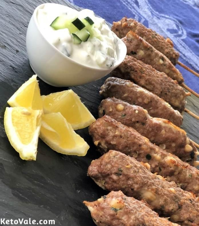 Low Carb Beef Kebabs