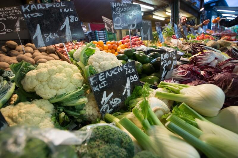 Low Carb Vegetables In The Market