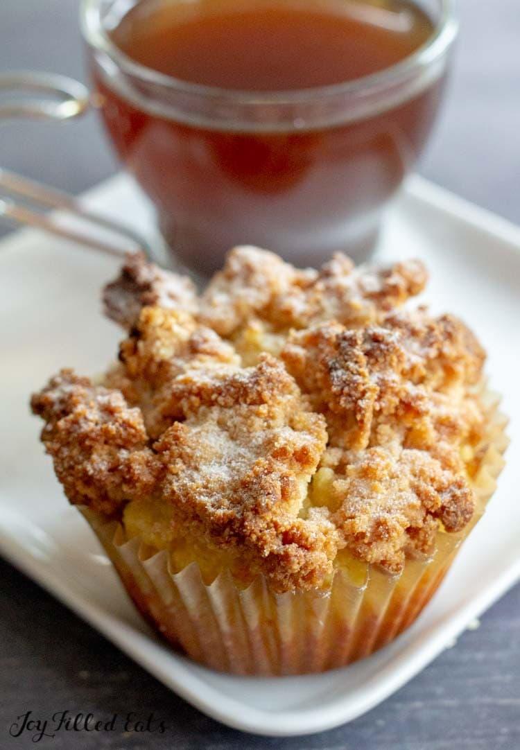 Keto Breakfast Recipes - Coffe Cake Muffins