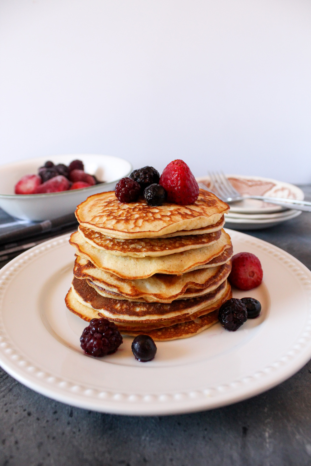 Delicious Keto Almond Flour Cream Cheese Pancakes