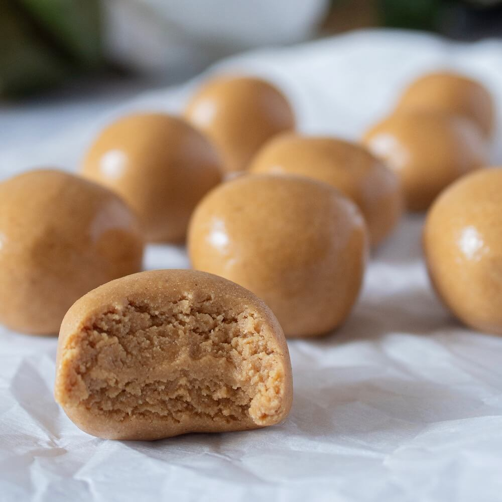 Our Keto Skippy PB Bites recipe is easy and fun to make.