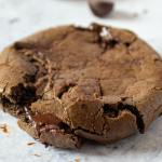 Keto Double Chocolate Chip Cookie Recipe Featured Image
