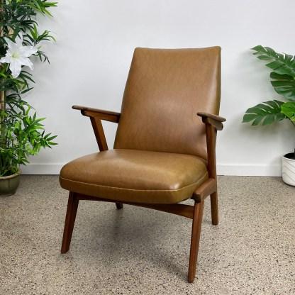 Vintage fauteuil Deense stijl Nederlands
