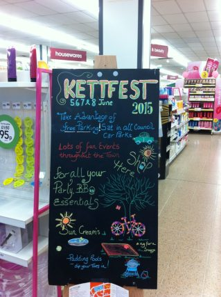 Shop Advertising KettFest2015