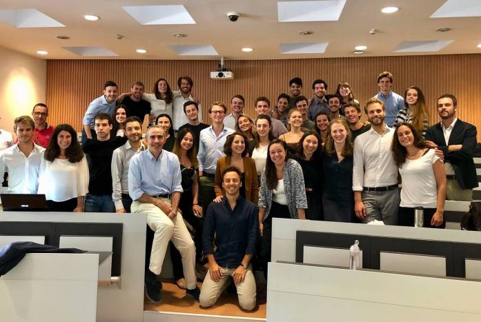 Bocconi University's sustainable business and energy masters students in the classroom. (Actually called Master's in Green Management, Energy, and Corporate Social Responsibility.) ©KettiWilhelm2018