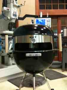 KettlePizza in Stainless Steel