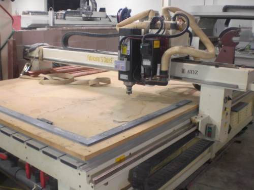 Cutting Pizza Peels on a CNC Router