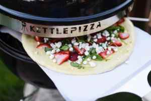 Grilled Strawberry Balsamic and Herb Pizza Recipe For KettlePizza