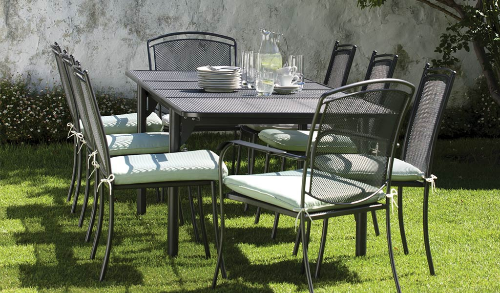 john lewis garden chair covers modern high back wing henley iron grey furniture from kettler dining set in the at range on