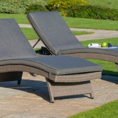 Rattan Garden Chairs Only Uk Plush Bean Bag Chair Furniture Buying Guide Indoors Outdoors Two Kettler Weave Sun Loungers In