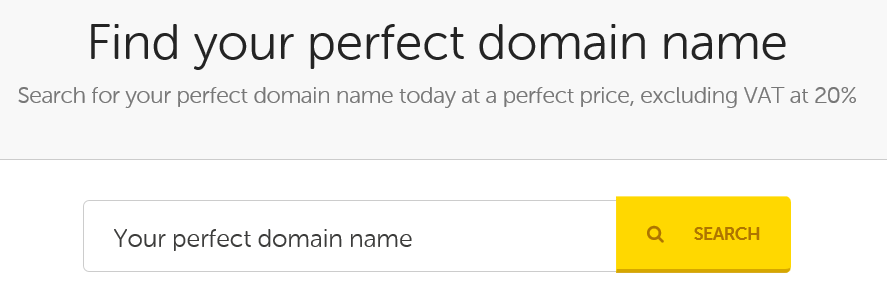 Perfect Domain Name