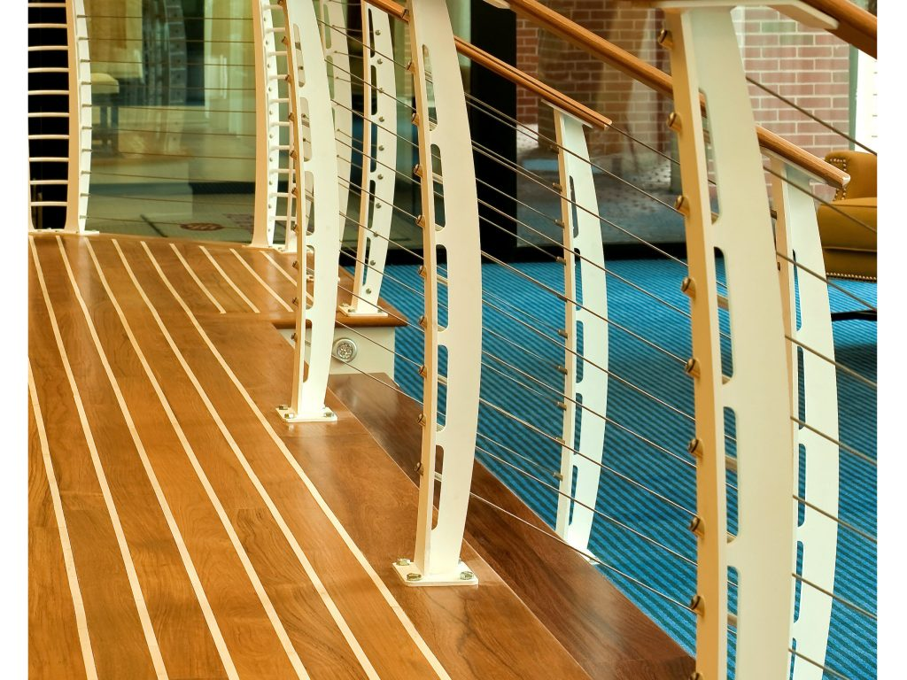 Nautical Cable Railing Design  Hampton VA  Keuka Studios