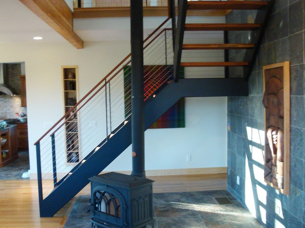 Ithaca Cable Railing and Stairs  Ithaca NY by Keuka Studios