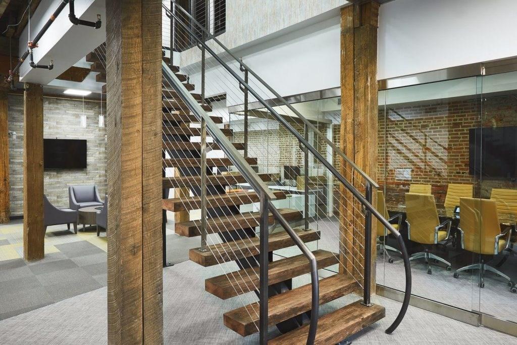 Floating Stairs Ideas 10 Custom Designs Keuka Studios | Used Steel Stairs For Sale | Hinged | Portable | U Shaped | Garage | 8 Foot