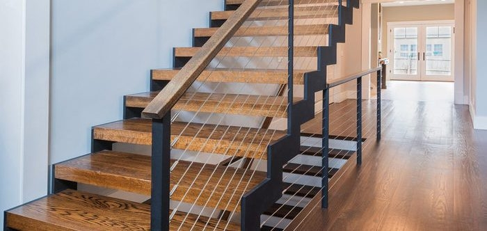 6 Types Of Stair Treads What To Know Before Choosing Various | Best Wood For Outdoor Stairs | Deck Railing | Stair Stringer | Handrail | Staircase | Railing