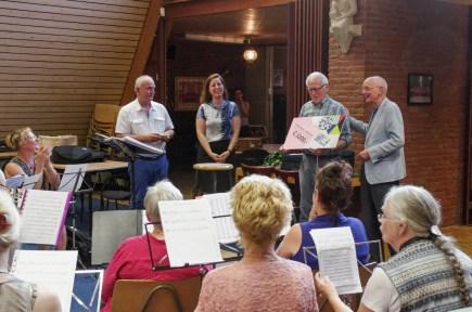 Uitreiking Gouden Caleidoscoop aan de Koninklijke Harmonie Roermond