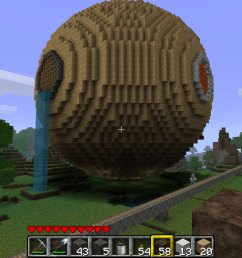 minecraft sphere diagram how to build a hollow sphere in minecraft sphere diagram minecraft minecraft sphere 2 [ 1680 x 1000 Pixel ]