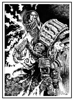2000AD_ink_Dredd Death