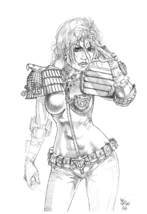 2000AD_pencil_Judge Anderson