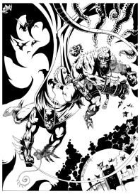 ComChars_Batman Hellboy