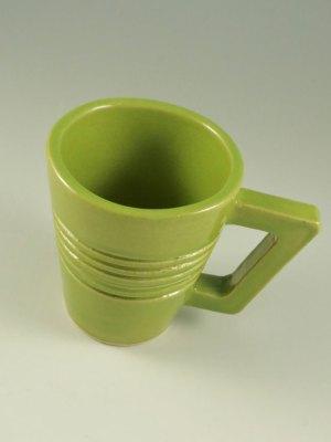 Coffee Mug, Green by Kevin Eaton
