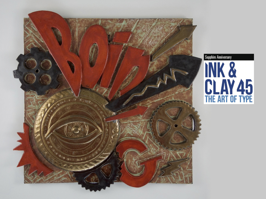 BOING! Wall Plaque Selected for Ink & Clay 45