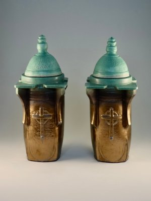 R&B Cremation Urns by Kevin Eaton