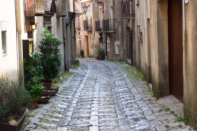Viagem pela Sicilia em Erice