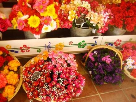 Mercado de flores em Nice