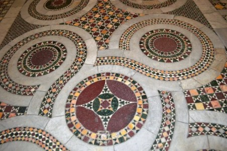 Piso da catedral de Anagni